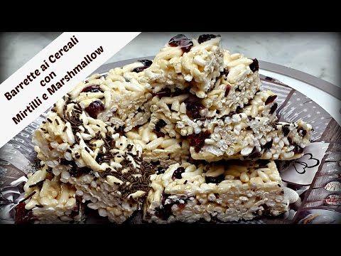 Barrette ai Cereali con Mirtilli e Marshmallow - YouTube