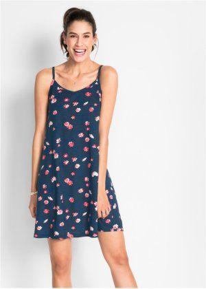 68a0e6af6aa40 Úpletové šaty s květinovým vzorem, bpc bonprix collection | #Fashion ...
