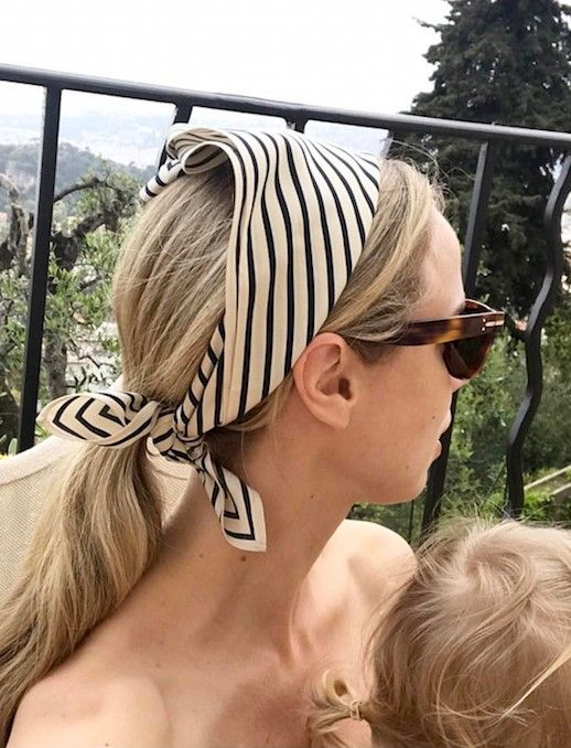 The Chicest Way To Wear A Silk Scarf For Summer   Le Fashion   Bloglovin'