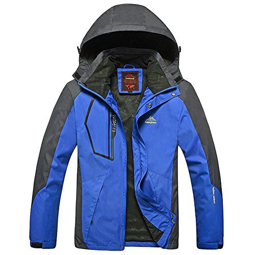 SODIALR Spring autumn men Women Outdoor jacket Windproof Camping Hiking sports coat men fishing tourism jackets waterproof men blue XL ** You can get more details by clicking on the image.