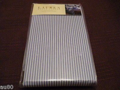 RALPH LAUREN Jermyn Street Shirt Stripe KING PillowCases NIP!