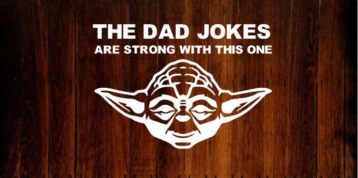 Star Wars Yoda Bumper Sticker/Decal #starwars #decals #vinyl #yoda #fathersday
