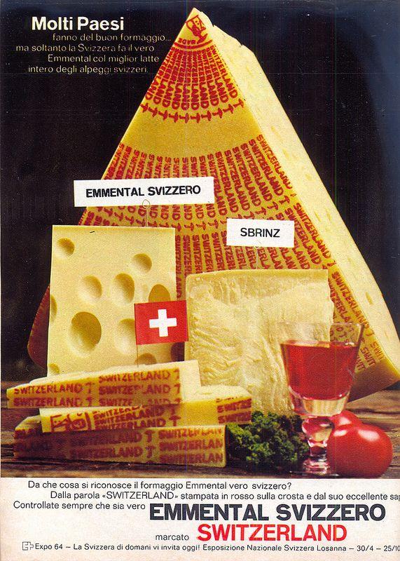 adv - 1964 - formaggio svizzero
