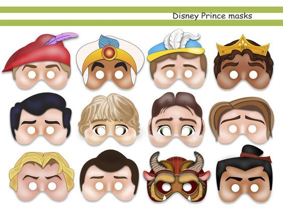 We Offer You: Special and Unique Happiness! We guarantee that you, and your family when buying our Prince Party Printable Mask Collection (Snow White's Prince, Aladin, Phillip, Li Shang, Naveen, Eric, Prince Charming, Flynn Ryder, John Smith, The Beast) which are inspired by the respective movie, cartoon, video game Disney characters: Friendship Is Magic, will receive a magic piece of happiness. Your life instantly will be filled with love, joy and light!Turn your everyday life into a ...