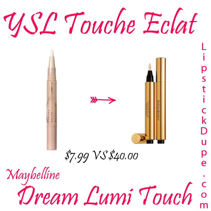YSL Touche Eclat Dupe Maybelline Dream Lumi Touch Highlighting ...