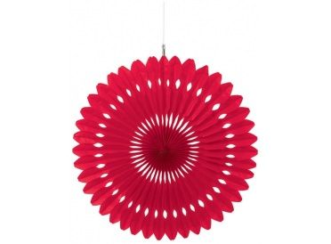 Red Fan Decoration | Whish.ca