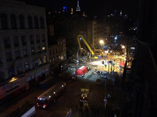 Demolition, Second Ave and 6th Street: @ScottWesterfeld 8:40 PM - 27 Mar 2015