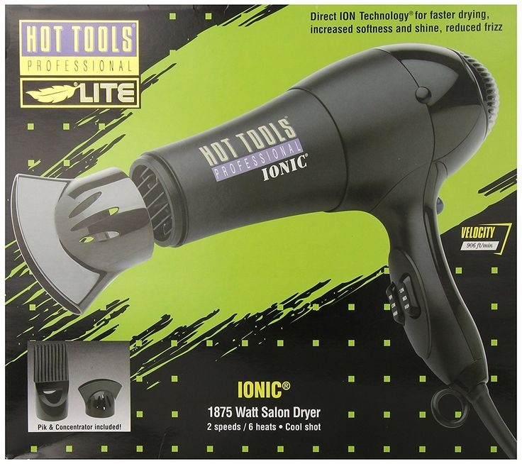 Hot Tools Professional HT1038 Ionic Salon Dryer, 1875 Watts >>> You can find more details by visiting the image link. #hairdresser