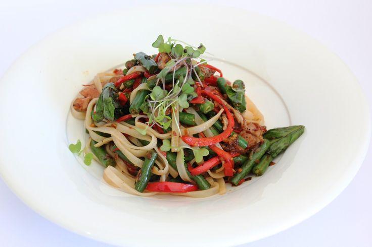Asian Inspired Green Bean and Lamb Stir-fry