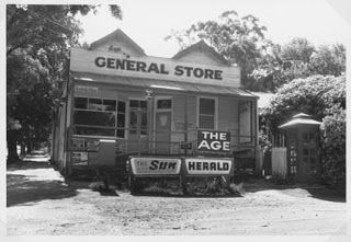 Gembrook General Store late 1960's