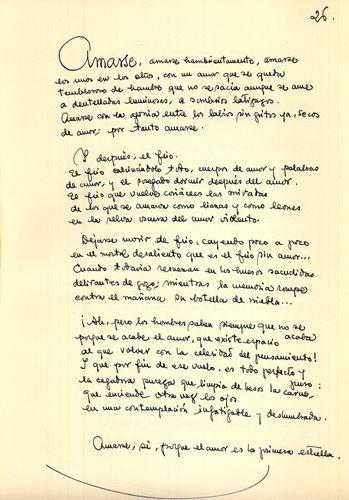 """""""Amarse..."""" (En """"Devorante arcilla"""", 1962)"""