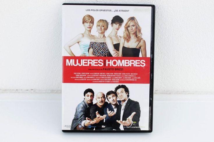 MUJERES CONTRA HOMBRES - DVD - FAUSTO BRIZZI ( EX )