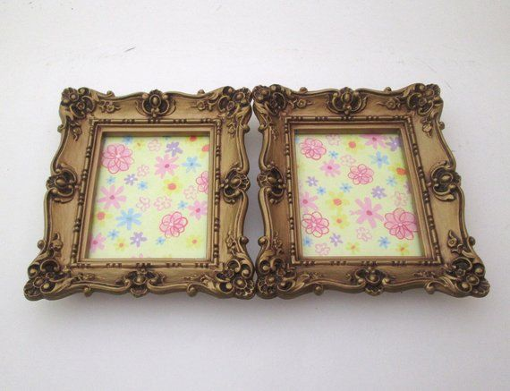 Vintage Picture Frame Set 4x5