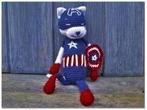 Captain Americat pdf pattern