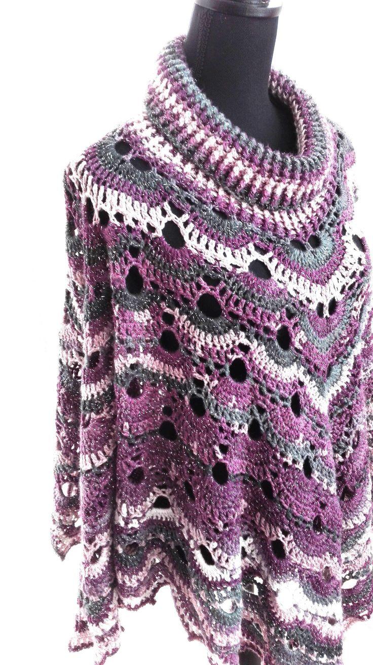 Een persoonlijke favoriet uit mijn Etsy shop https://www.etsy.com/nl/listing/487483958/herfst-winter-poncho-sjaal-met