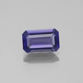 The Vikings probably mined iolite from deposits in Norway and Greenland. Viking sailors used iolite as a polarizing filter to find the sun on cloudy days for a safe offshore navigation. Iolite is usually a purplish blue when cut properly