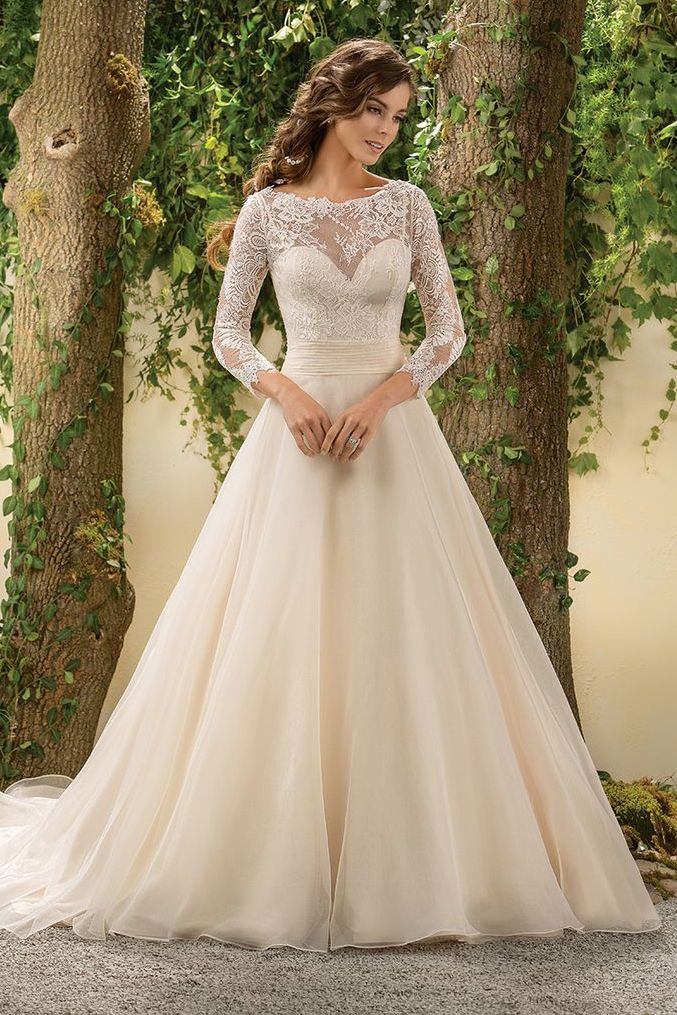 "By Stefania Sainato for Bridal Guide  Bridal Guide's ""Gowns"" Pinterest board features over a whopping 10,000 stunning styles (and counting). Detachable skirts, sheer styles and modest sleeves eme..."
