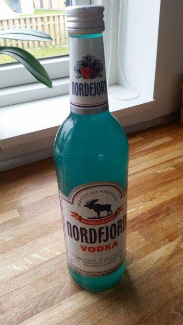 Vodka med blå ugler. Mums