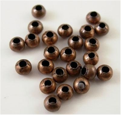 1000 st Metallpärlor / Metallkulor 2 mm  Kulor Metall