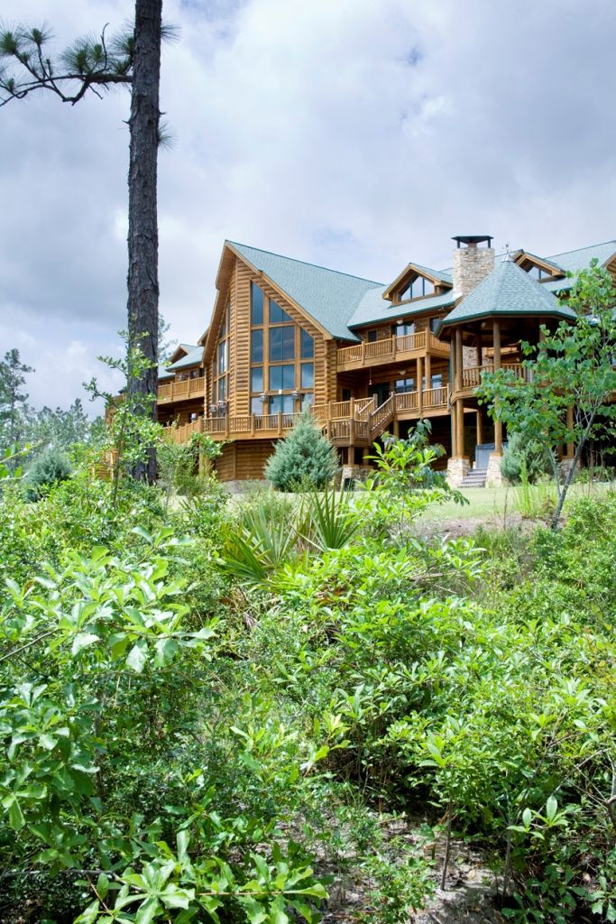 50 best images about exteriors by wisconsin log homes for Hybrid timber frame home plans