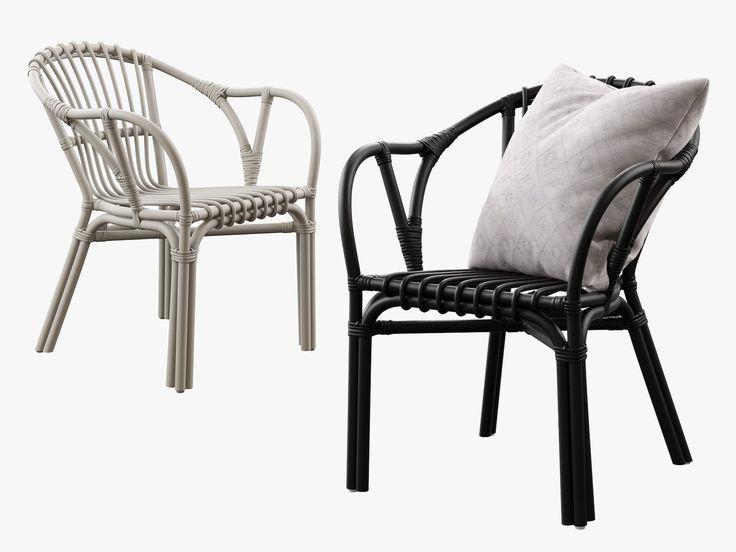 Ikea Holmsel Chair Obj - 3D Model