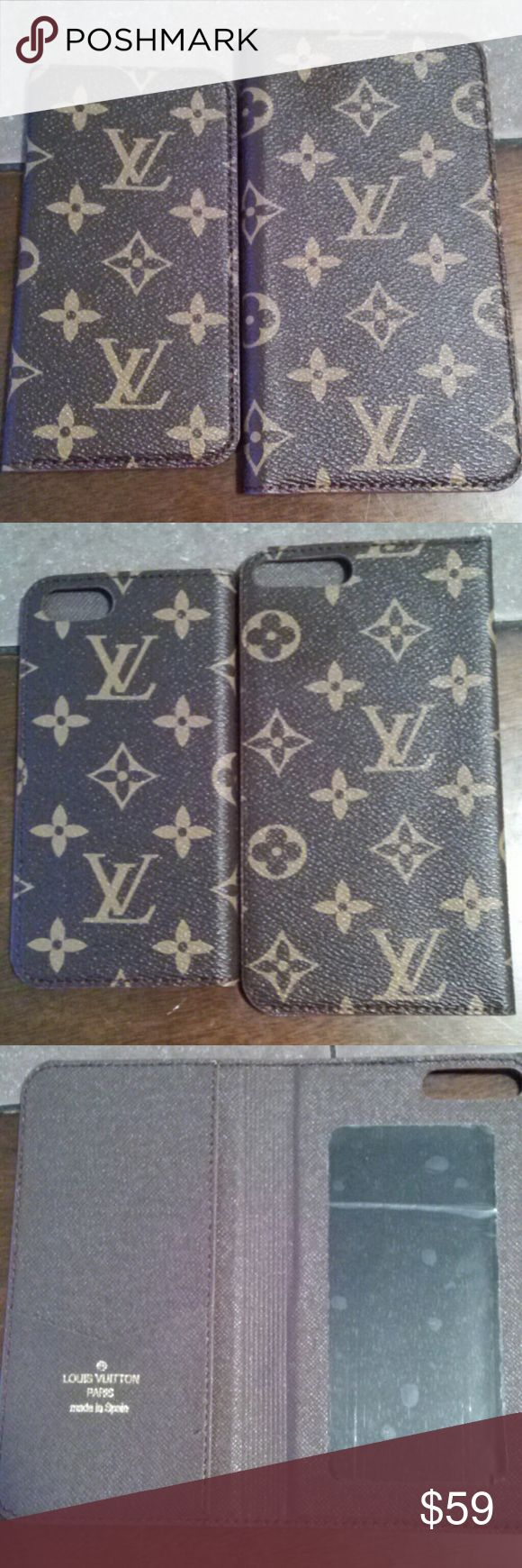 (FS) IPhone 7S, 7plus Case holders Beautiful monogram case holders in style 1 & 2 only. Nwot Comes with box Accessories Phone Cases