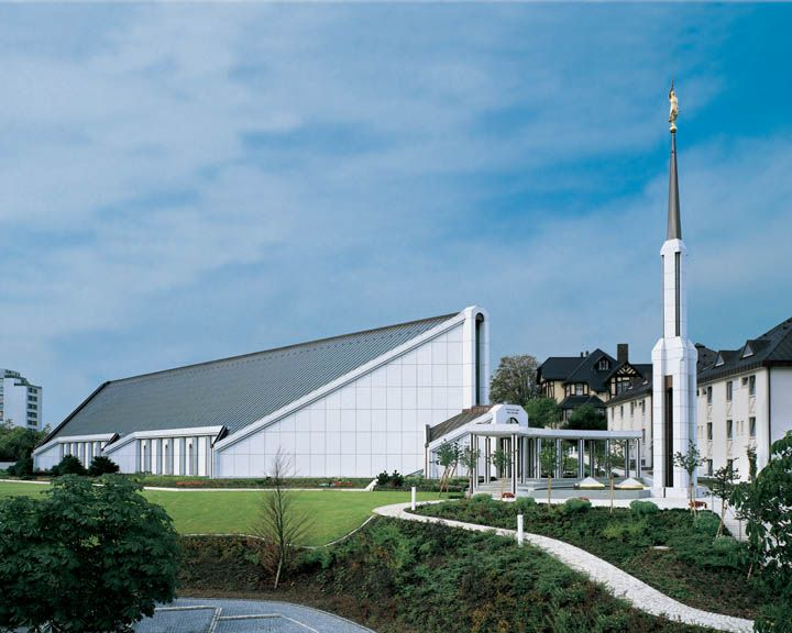 LDS temple Frankfurt Germany