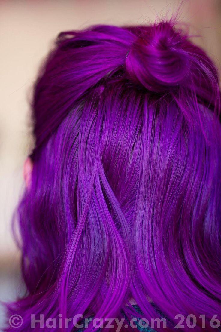 Queeny -   - Arctic Fox - Violet Dream   - Directions Flamingo Pink   - Magenta   - Special Effects Deep Purple