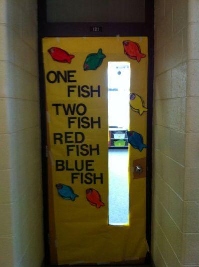 Dr Seuss Classroom Door Decoration