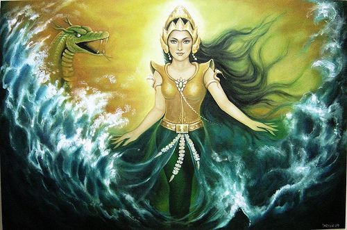 Queen of the Southern Sea of Java..  Jogia