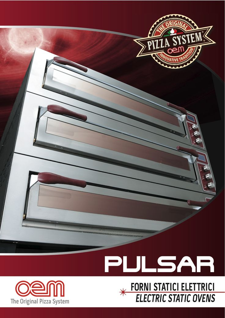 OEM - Serie PULSAR - Electric ovens