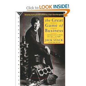 The Great Game of Business: Unlocking the Power and Profitability of Open-Book Management - fun to read, great take-away points for all