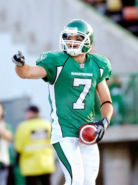 Riders' Weston Dressler the centre of attention