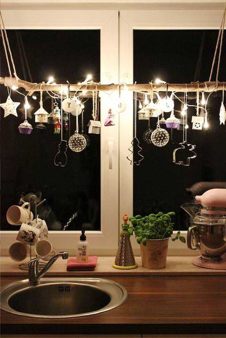 Modern Kitchen For Christmas