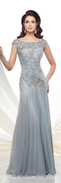 Formale Abendkleider von Mon Cheri - Herbst 2016 - Stil Nr. 216962 - Chiffon und ...