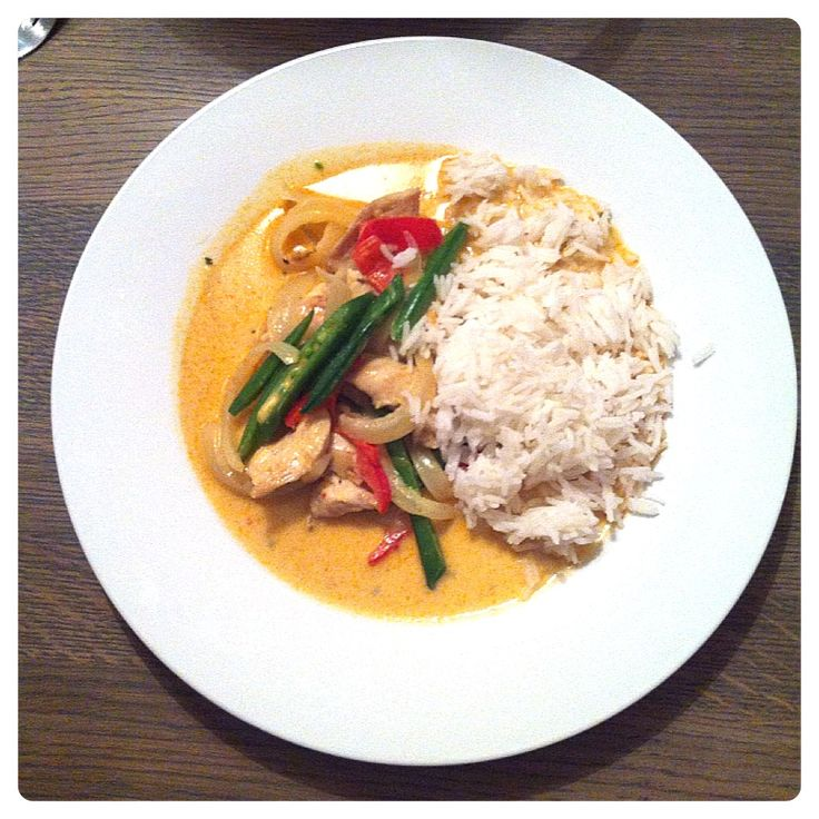Kylling red curry
