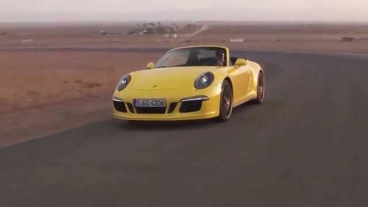 Porsche 911 Carrera GTS Cabriolet Track Driving Video Trailer