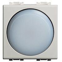 BTICINO LN4380N TORCIA LED EMERGENZA 2 MODULO ANTRACITE LIVING INTERNATIONAL immagini