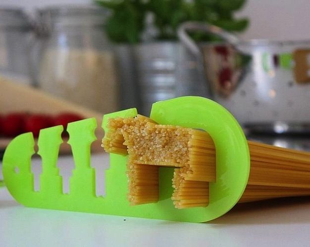 "Doiydesign Pasta / This delightful pasta measure created by Doiydesign is actually named ""I Could Eat a Horse."" http://thegadgetflow.com/portfolio/doiydesign-pasta-measure/"