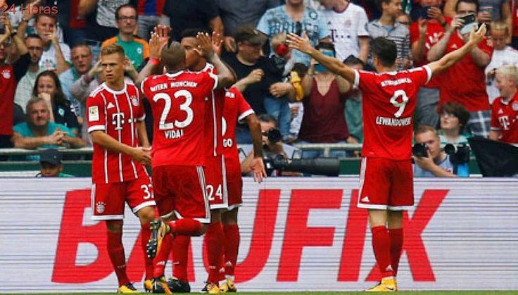 Bayern Munich de Arturo Vidal vence a Werder Bremen por la Bundesliga