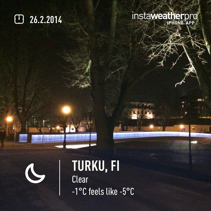Turku, Aurajoki.