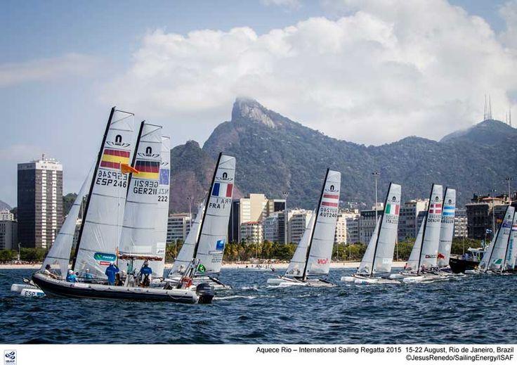 Test Evet Rio : Billy Besson & Marie Riou en Nacra 17 et Sofian Bouvet (...) - SeaSailSurf.com : L'actualité des sports de glisse #mer #voile #sport