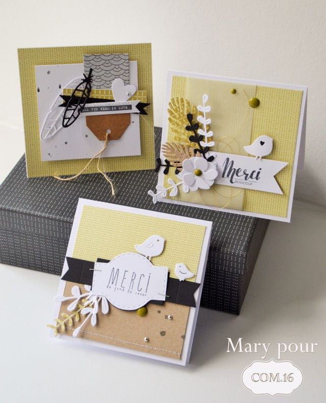 Un grand merci... - Le scrap de Mary
