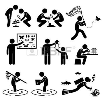 diving sticks: Man People Outdoor Activity Geologist Research Specimen Stick Figure Pictogram Icon Illustration