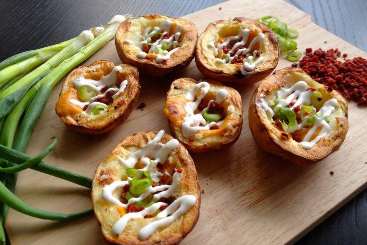Finger-lickin' Potato Skins : Vegan