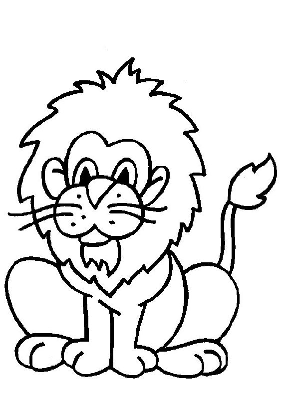 Coloring Pages Of Baby Lions