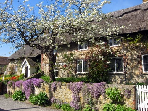 Beautiful English Spring Storrington and Sullington, West Sussex, UK
