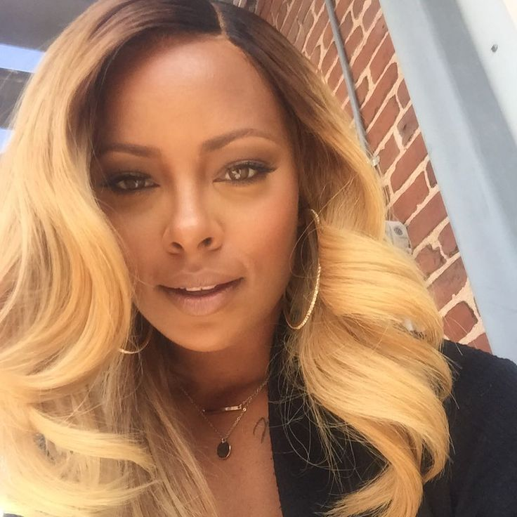 Eva Marcille's Blonde Hair Look Is Slayed To The Gods