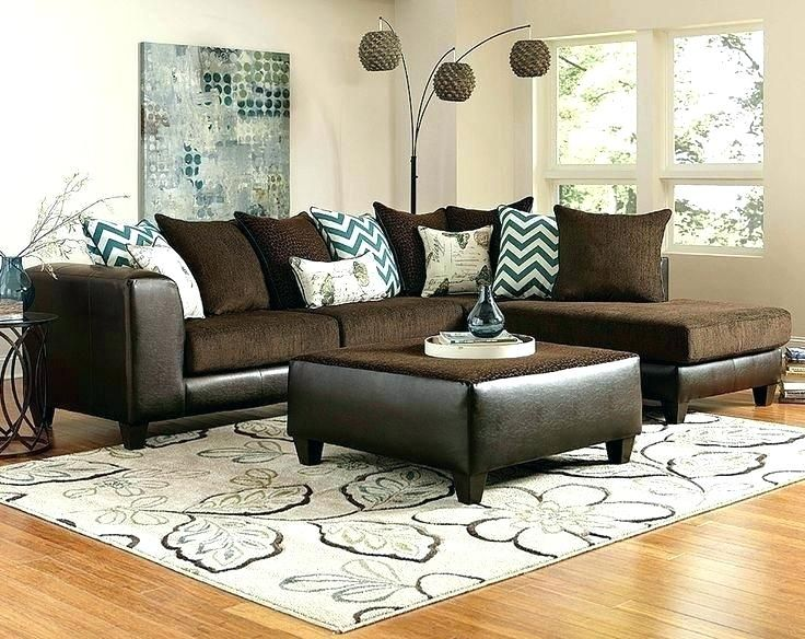 Sectional Living Room Ideas Dark Brown Leather Living Room