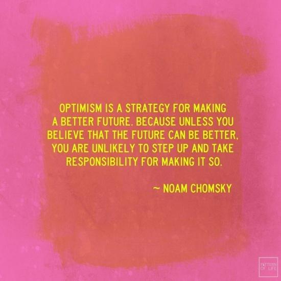 Noam Chomsky wisdom